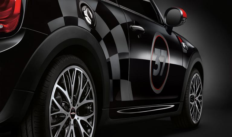 MINI John Cooper works pro racing stripes