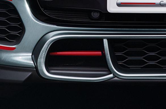 MINI John Cooper Works Concept large air intakes