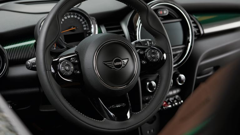 MINI 60 Years Edition – steering wheel – black leather