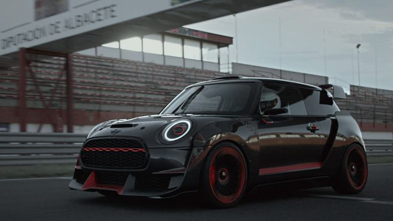 THE MINI JCW GP CONCEPT