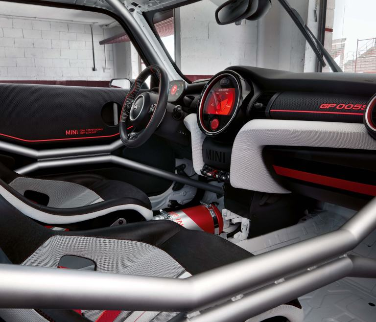 MINI John Cooper Works GP Concept – cockpit