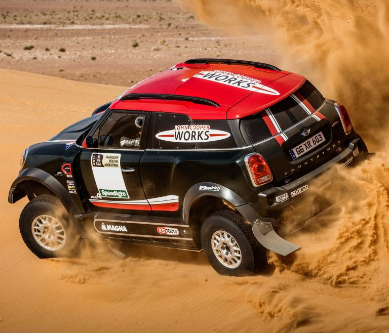X-raid MINI John Cooper Works Rally car – Dakar Rally