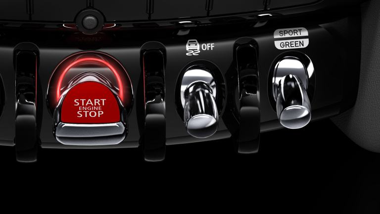 MINI John Cooper Works – driving modes – switches