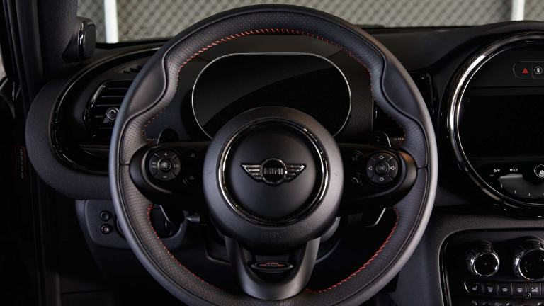 MINI John Cooper Works – leather steering wheel – cockpit