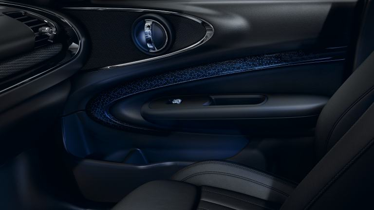 MINI Clubman – door bezels – interior surfaces