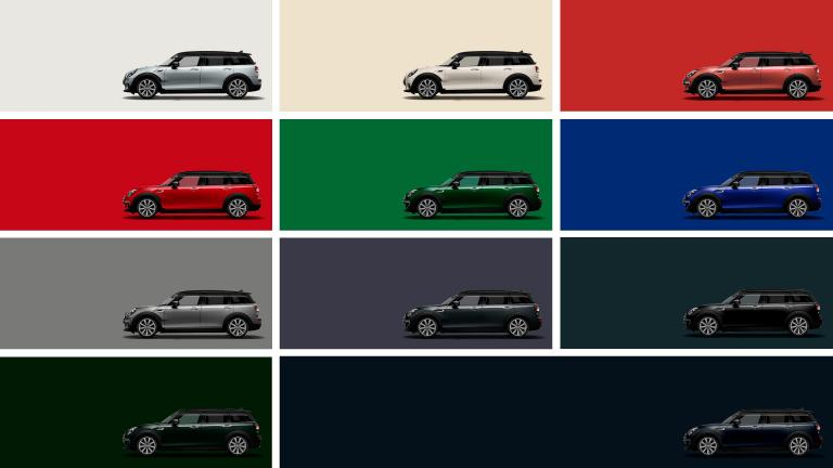 MINI Clubman – exterior colour – palette